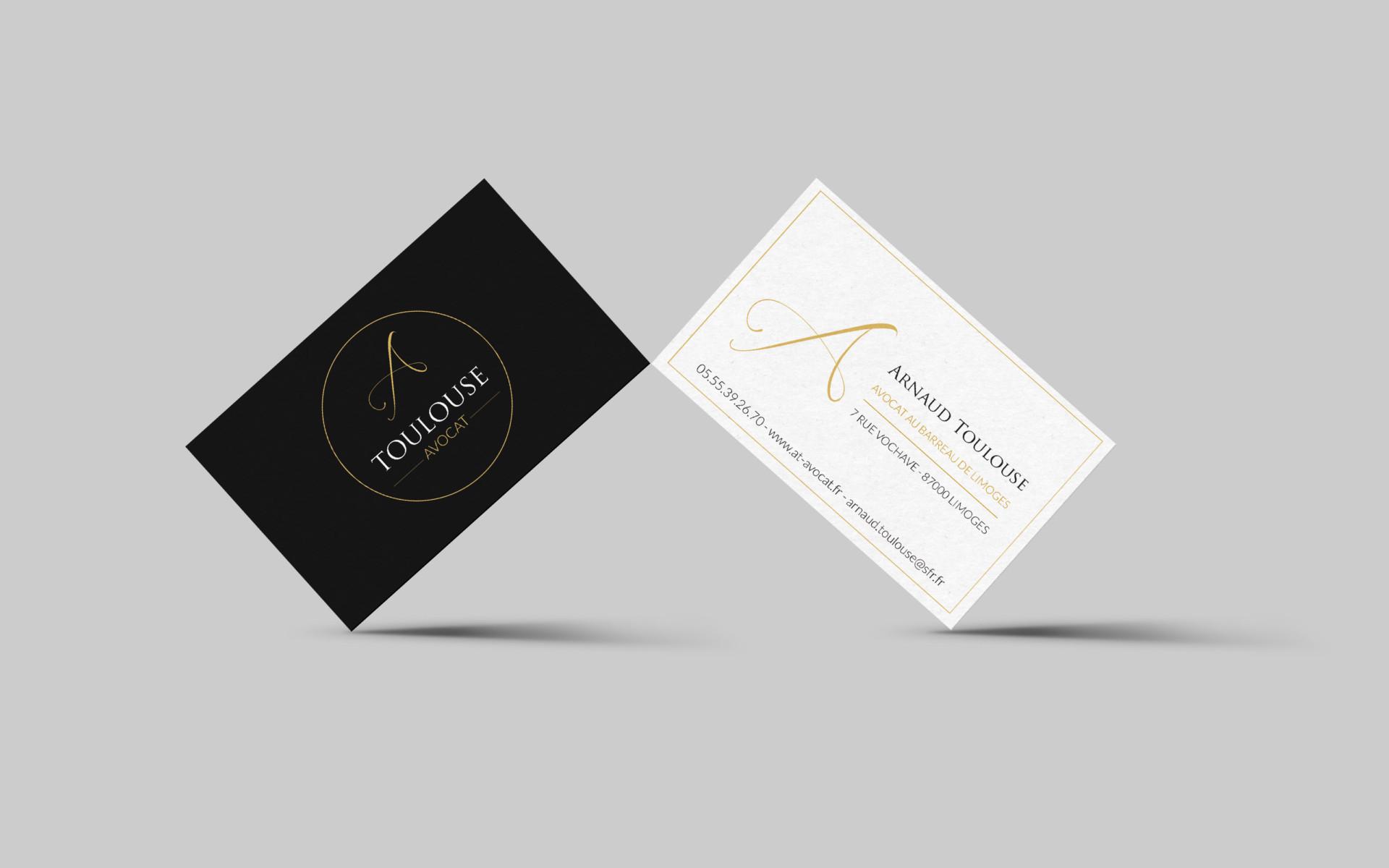 Cartes De Visites Arnaud Toulouse